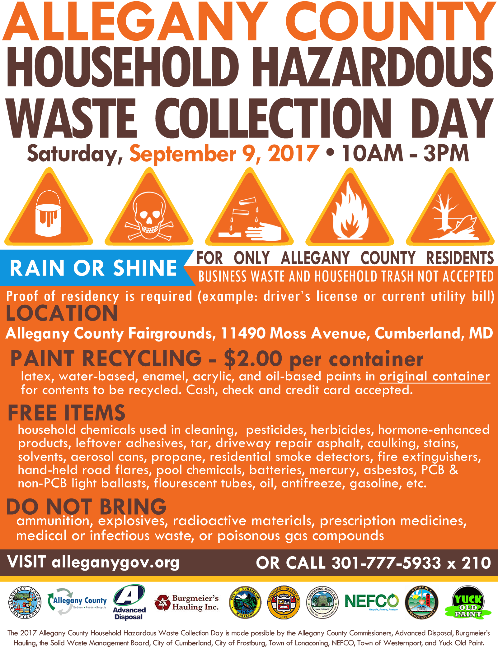 2017 Household Hazardous Waste Flyer_