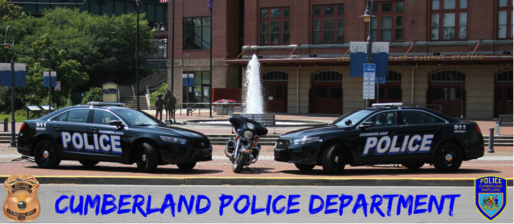 Cumberland Police Department Website Banner
