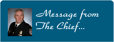 Message from the Chief Banner