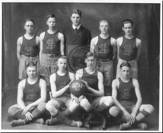 LaSalle Basketball Team 1920