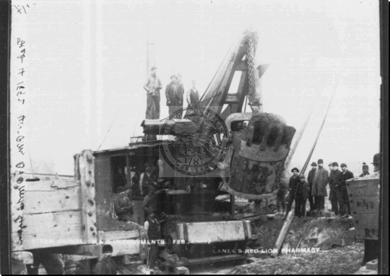 Steam Shovel B&O Railroad Equipment