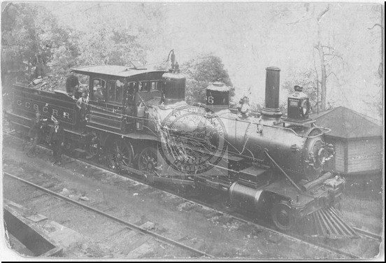 Georges Creek and Cumberland Railroad Engine #6