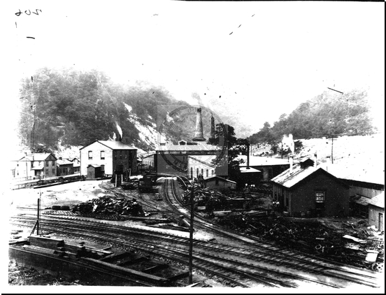 Georges Creek and Cumberland R.R. Shops