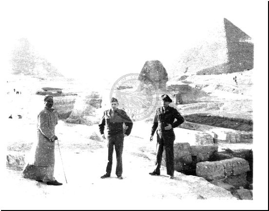 Colonel Morrissey in Egypt