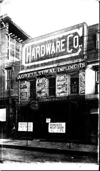 Hardward Company R.R. and Mining Supplies