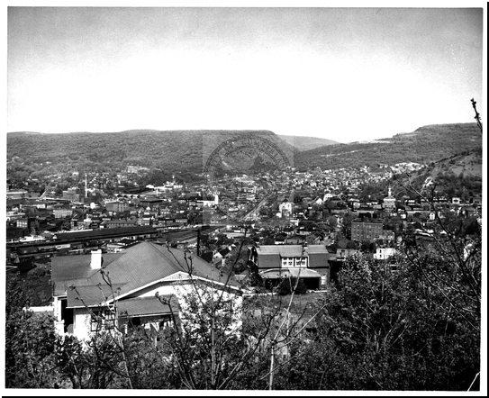 View of Downtown Cumberland