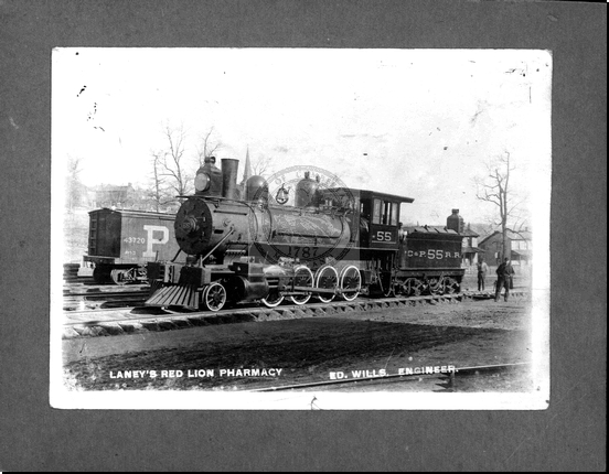 Cumberland and Penna R.R. Engine