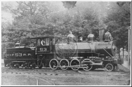 Cumberland and Pennsylvania R.R. Engine #53