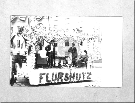 Flurshutz Float in Parade