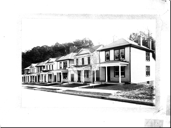 New Houses on Fayette Street