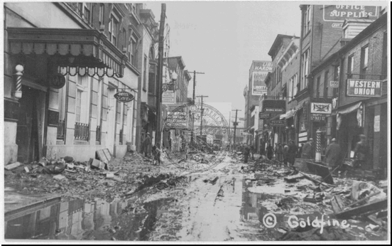 Liberty Street After Flood