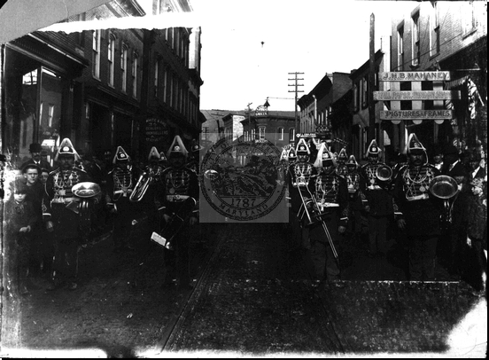 Cumberland Concert Band on Parade